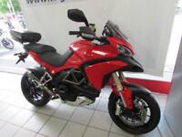 DUCATI MULTISTRADA 1200, 11 REG ONLY 8925 MILES WITH HEATED GRIPS AND TOP CASE..