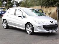 Peugeot 308 1.6 VTi ( 120bhp ) Sport, 21008, 62 000 Miles, 6 Months AA Warranty