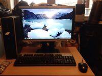 Hp compaq 8000 Bbuisness PC full package 3.0ghz 4gb ram 250gb hard drive screen keyboard mouse