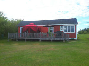 OCEAN FRONT 1-BEDROOM COTTAGE, SANDY BEACH, CARIBOU ISLAND, NS