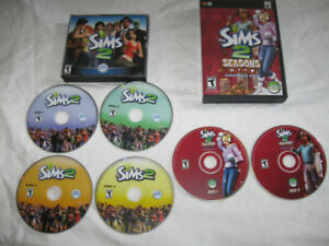 The Sims 2 & Sims 2 Seasons Expansion Pack-$5 lot