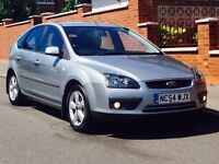 FORD FOCUS 1.6 ZETEC 2005 ONLY 74K LOW MILEAGE SERVICE HISTORY 3 MONTHS WARRANTY CALL NOW