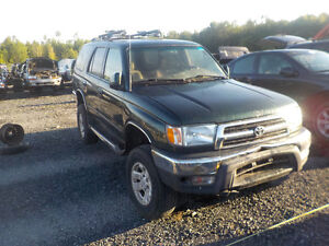 1999 Toyota 4 Runner Now Available At Kenny U-Pull Cornwall