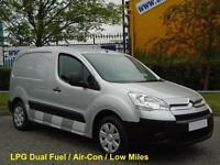 2010/ 10 Citroen Berlingo 1.6i L1 625 Lx [ LPG / Dual Fuel ] Low Mileage 3-Seats