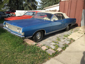 1969 Fairlane convertible R code 428 cj