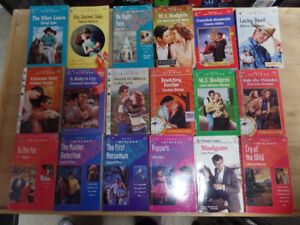 18 Harlequin Intrigues for sale, lot 2