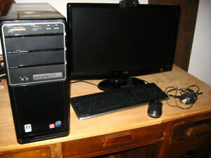 Gateway computer, monitor, scanner and accessories