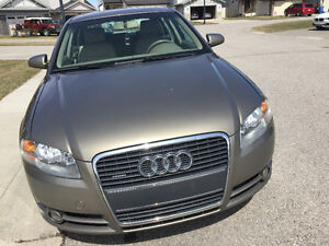 2006 Audi A4 2.0 Turbo Sedan low km
