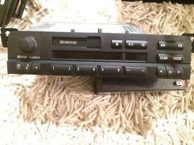 Genuine Bmw Car Stereo E46 3 Series Tape/cassette