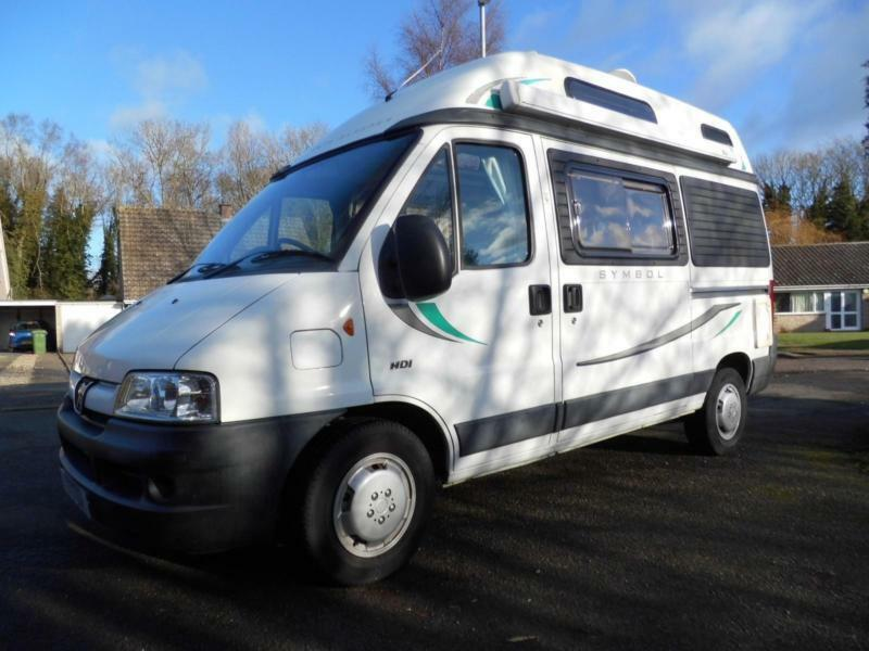 Auto Sleepers For Sale Gumtree: AUTOSLEEPERS SYMBOL ES HIGH TOP CAMPERVAN FOR SALE Peugeot