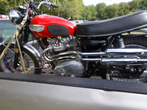Vintage British motorcycles for sale