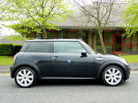 2007 07 MINI Hatch 1.6 Cooper S 3dr WITH SATNAV+LEATHER+PANROOF+PARK SENSORS