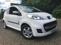 *6 MTHS WARRANTY*2011(11)PEUGEOT 107 1.0 SPEICAL EDTION 3DR WHITE ONLY 53K*