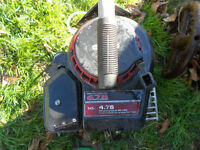 BRIGGS AND STRATTON 4.75HP VERTICAL SHAFT MOTOR