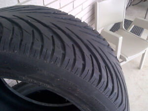 Runway Enduro 916 Tires, 4 like new 205 55 R15