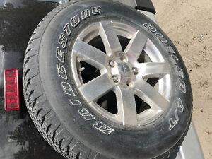 Bridgestone Dueler A/T Tires -P225/70R18