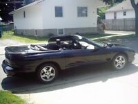 1999 PONTIAC FIREBIRD CONVERTIBLE-DRASTIC REDUCTION
