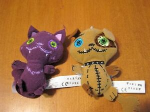 MONSTER HIGH DOLL PLUSH PETS LOT OF 2
