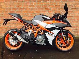 *SPECIAL OFFER* 2018 KTM RC 390 only £4399 – save £700! A2 legal