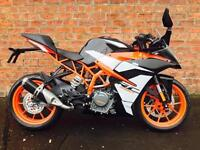 KTM 390 RC ready to race for only £22.86 a week