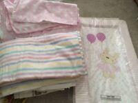 Girls Cot Bedding Bundle