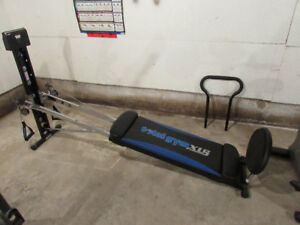 Total Gym workout bench
