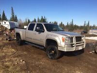 2008 gmc 2500hd  leather loaded