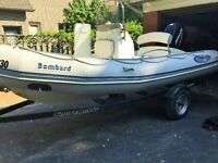 2007 Bombard 16.5ft Rigid Inflatable