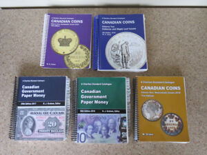 Charlton Standard Catalogue book for Canadian coins and Currency