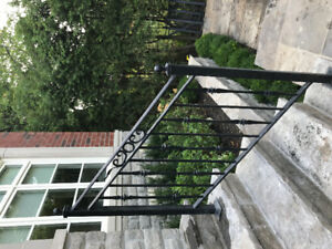 Solid Cast Aluminum Porch/Deck  Hand Rail