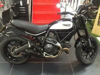 DUCATI SCRAMBLER ICON. 1 OFF FULLY CUSTOMISED HUGE EXTRAS LIST