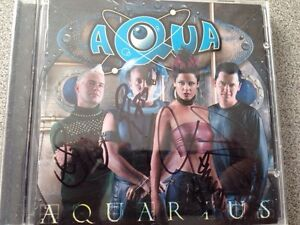 Pop group AQUA hand signed CD Gatineau Ottawa / Gatineau Area image 1