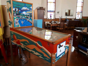 Collector looking for vintage William's pinball