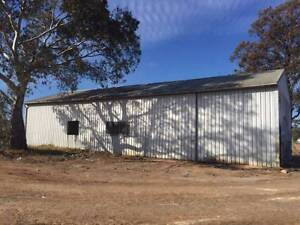 Steel framed shed approx 60'x 28' dismantled Clare Clare Area Preview