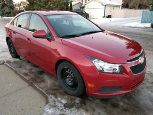 2012 Chevrolet Cruze with Remote Starter