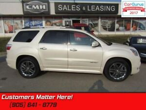 2012 GMC Acadia Denali  AWD, NAVIGATION, DUAL ROOF, DVD, CAMERA,