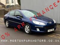2007 PEUGEOT 407 2.0 HDi 136 SE 4dr 2YRS FREE CREDIT OFFER