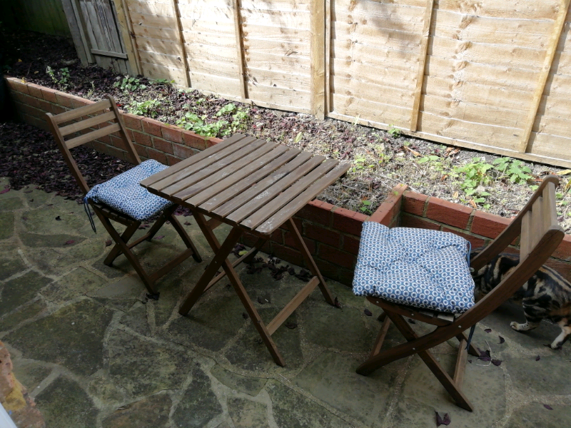 Ikea Balcony Foldable Table And Chairs In Ealing Broadway London Gumtree