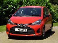 2015 Toyota YARIS 1.0 VVT-I ACTIVE Manual Hatchback
