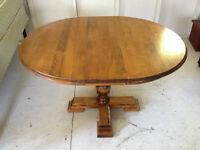 Vintage, Solid Wood Dining Room Table