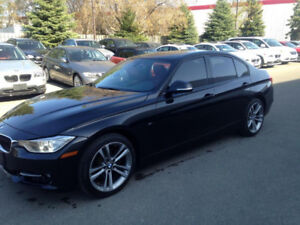 Beautiful 2012 BMW 328i fully loaded,  black with red interior