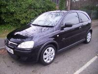 2005 (05 Reg) Vauxhall/Opel Corsa 1.2i 16v SXi