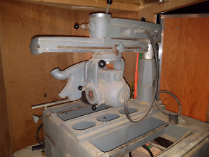 """Rockwell industrial 14"""" radial arm saw"""