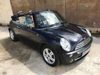 Mini One 1.6 Convertible, Female Owned, *Low Mileage* Leather Air Con 12 Month Mot 3 Month Warranty