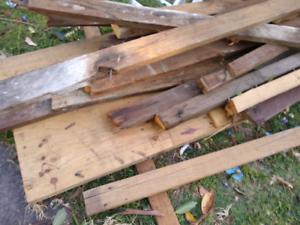 Free: Recycled timber hardwood lvl