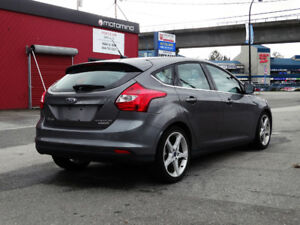 2012 Ford Focus Titanium Sedan TOP OF THE LINE, One owner, Local