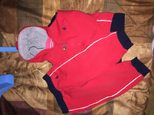 Ferrari outfit sweater and sweat pants set size 2 years in EUC