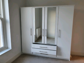 Argos Home Normandy mirrored wardrobe