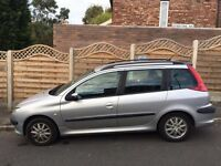 Peugeot 206 sw 2004 £280