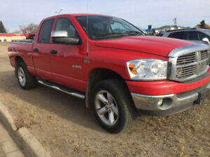 2008 Dodge Slt Quadcab Pickup Truck